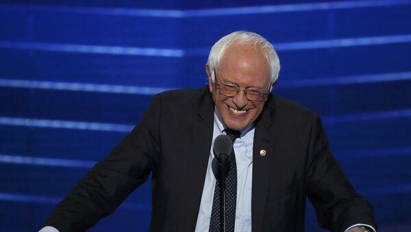 Senátor Bernie Sanders - Sputnik Česká republika