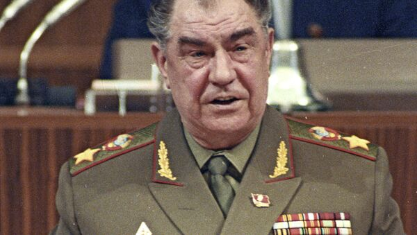 Maršál SSSR Dmitrij Jazov v Kremlu v roce 1990 - Sputnik Česká republika