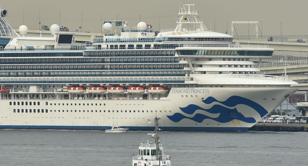 Loď Diamond princess