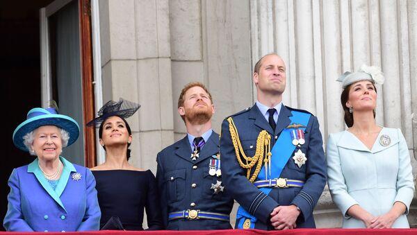 Členové britské královské rodiny - Sputnik Česká republika