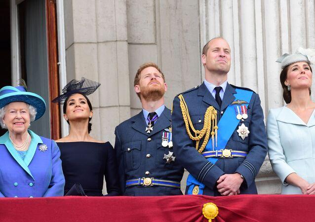 Členové britské královské rodiny