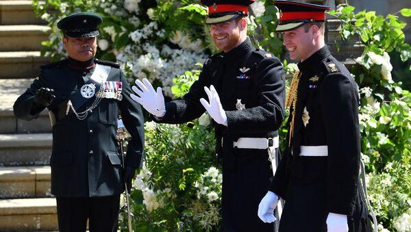 Prince Harry a prince William - Sputnik Česká republika