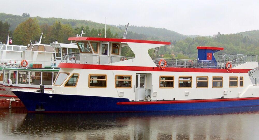 Výletní loď Dallas v Brně