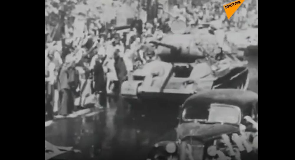 94letý veterán, který se účastnil osvobozování Prahy, exkluzivně pro Sputnik odhalil své dojmy