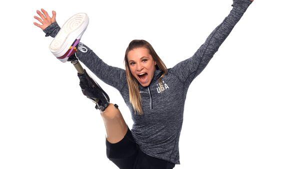Oksana Masters během focení pro Olympijské hry v Tokiu 2020 - Sputnik Česká republika