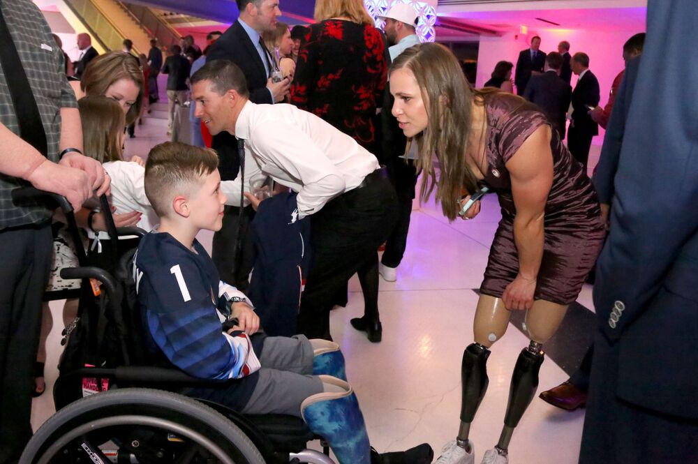 Sportovkyně Oksana Masters na Team USA Awards, 2018