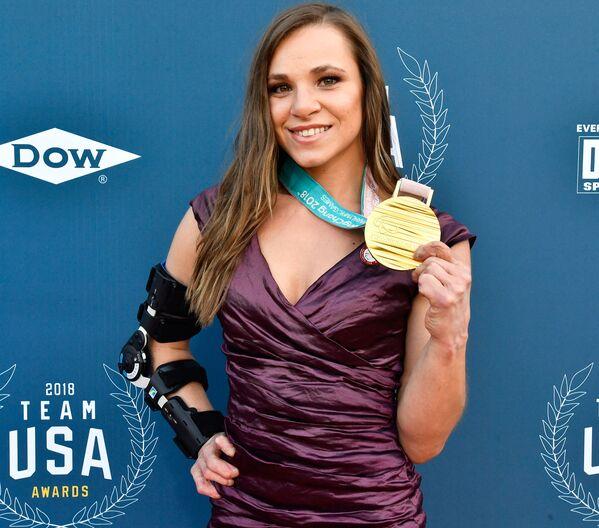 Sportovkyně Oksana Masters na Team USA Awards, 2018 - Sputnik Česká republika