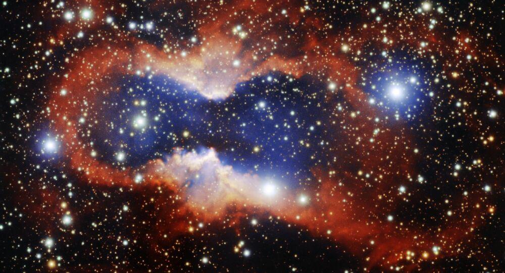 Fotografie planetární mlhoviny CVMP 1