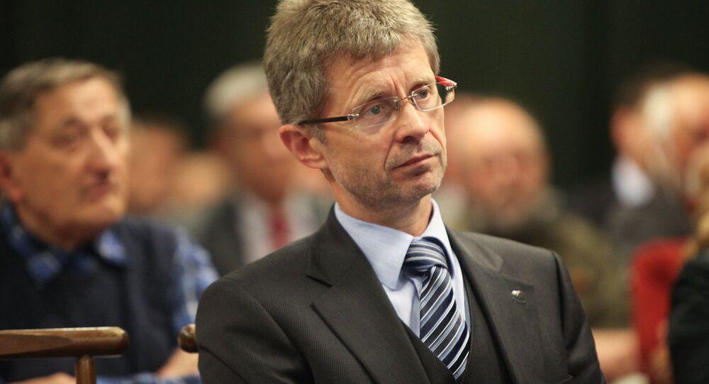 Předseda Senátu ČR Miloš Vystrčil.