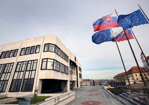 Budova Národní rady Slovenské republiky. Ilustrační foto