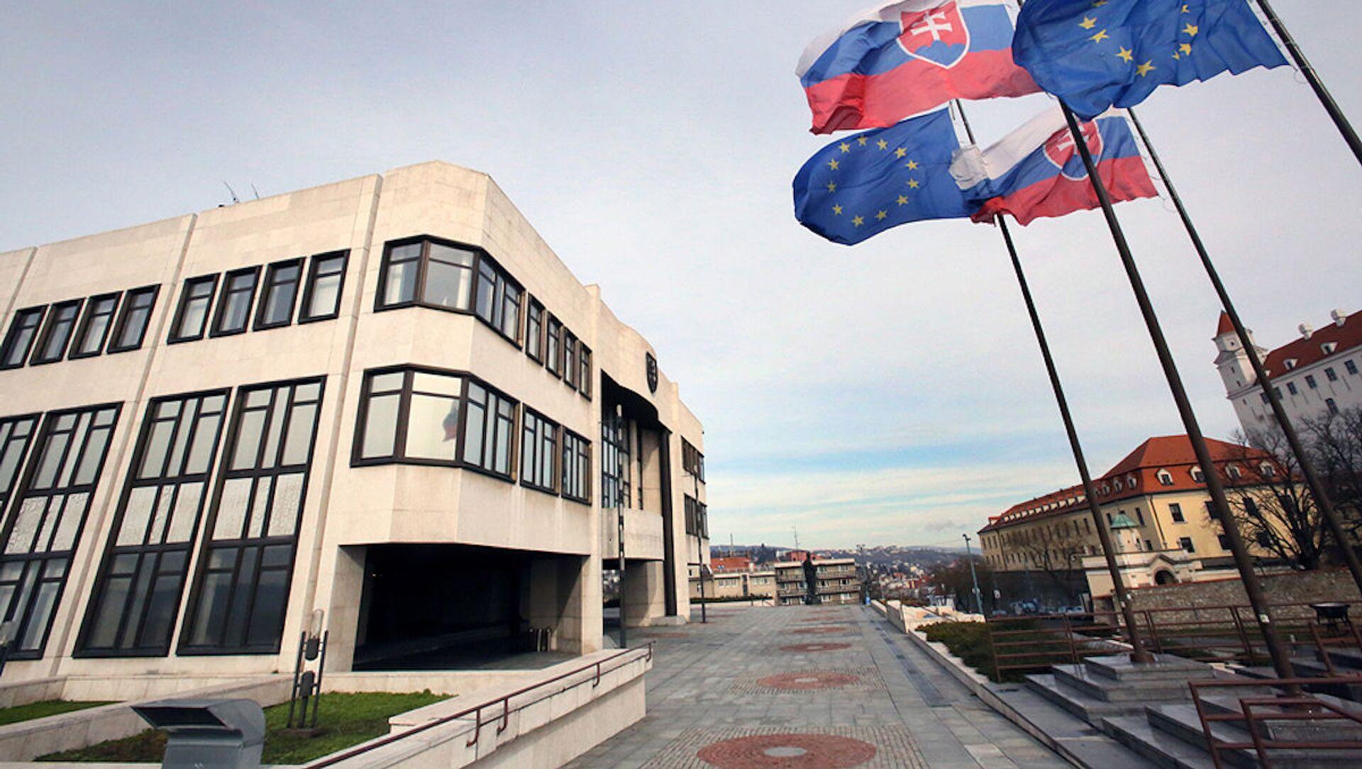 Budova Národní rady Slovenské republiky. Ilustrační foto - Sputnik Česká republika, 1920, 23.02.2021