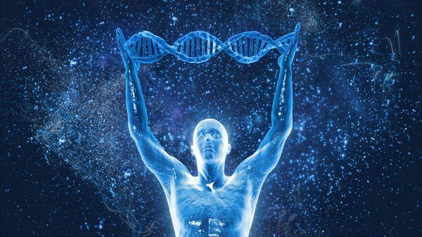 Řetězec lidské DNA - Sputnik Česká republika