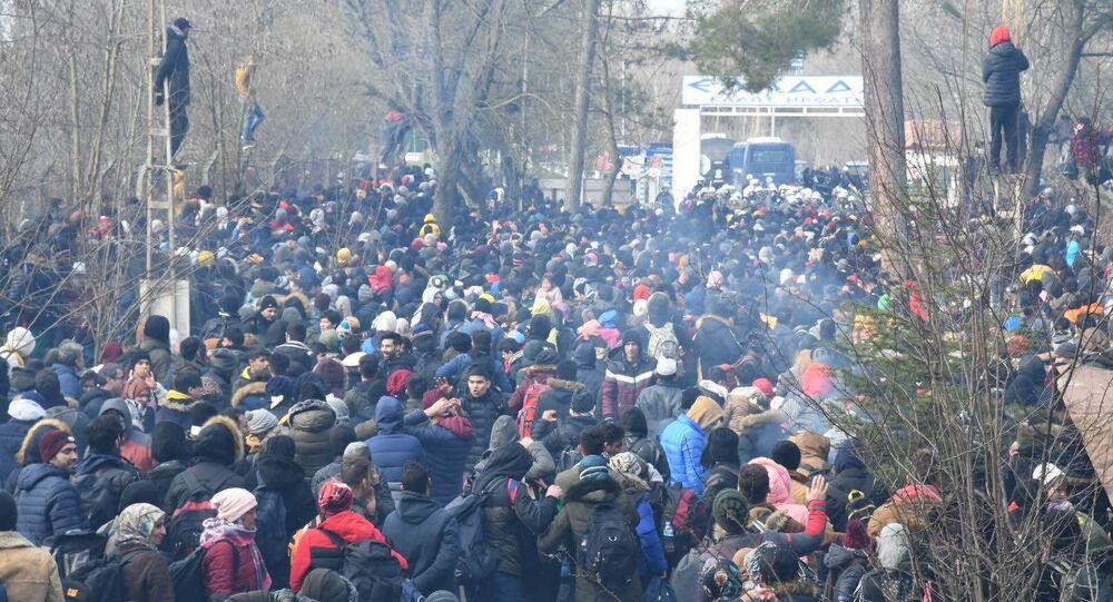 Přechod Pazarkule na turecko-řecké hranici