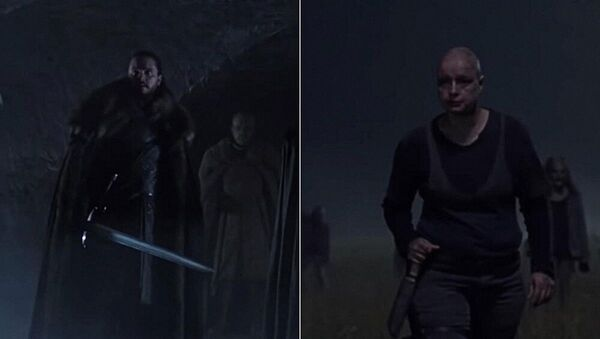 """Záběry ze série """"Game of Thrones"""" (8. sezóna) a """"The Walking Dead"""" (10. sezóna) - Sputnik Česká republika"""