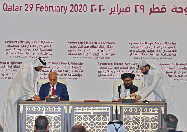 USA a Tálibán podepsaly mírovou dohodu