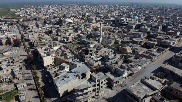 Město Sarakíb v provincii Idlib. Ilustrační foto - Sputnik Česká republika