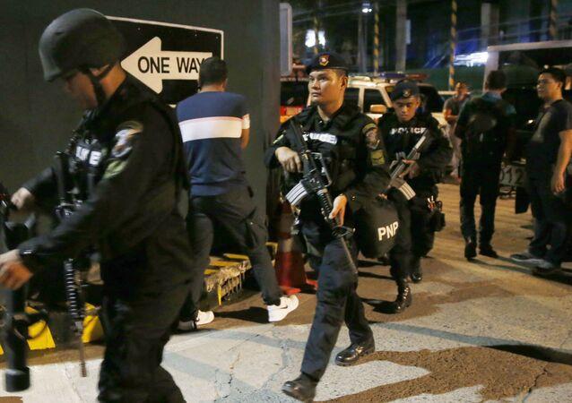 Členové SWAT Filipínské Národní policie