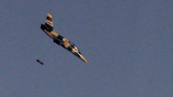 Bitevník L-39 syrského letectva - Sputnik Česká republika
