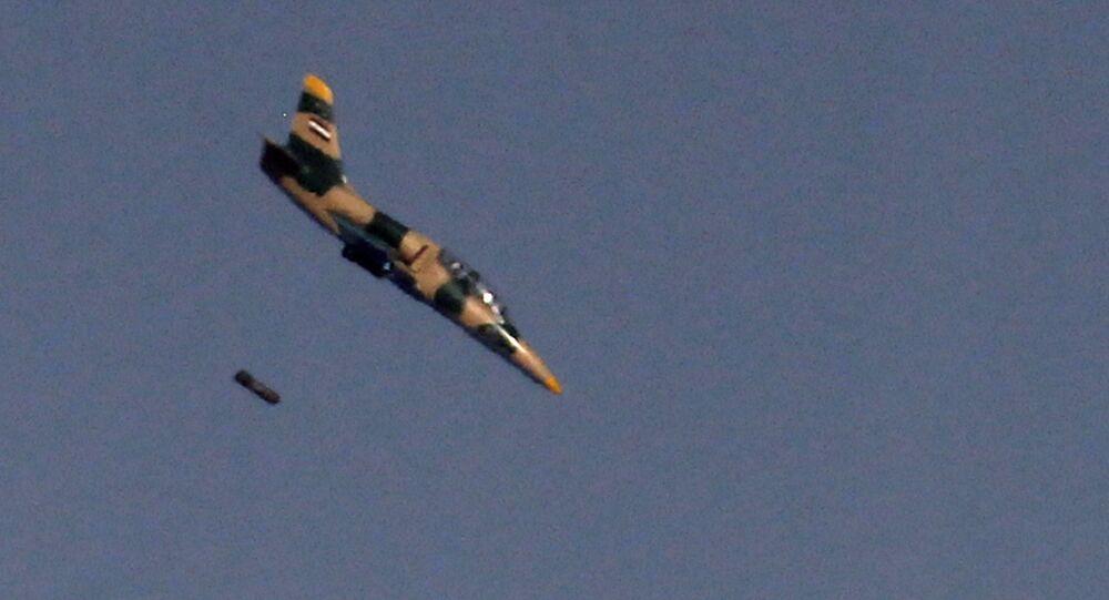 Bitevník L-39 syrského letectva