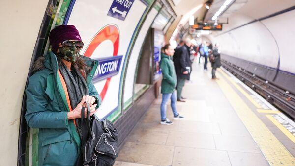 Londýn. Metro - Sputnik Česká republika