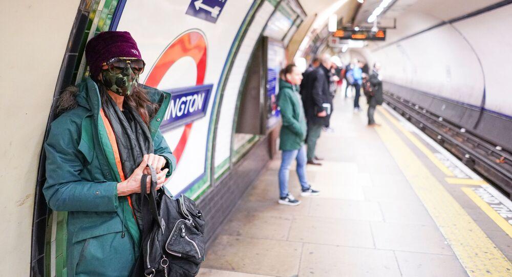 Londýn. Metro