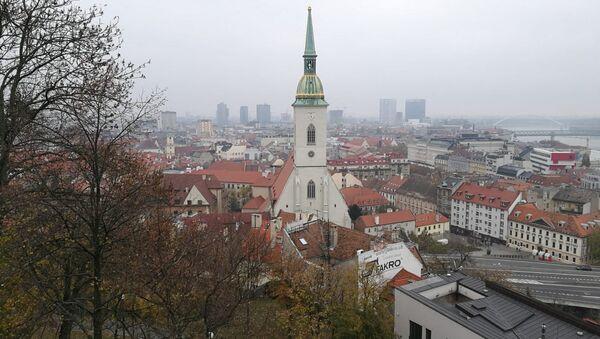 Pohled na Bratislavu - Sputnik Česká republika