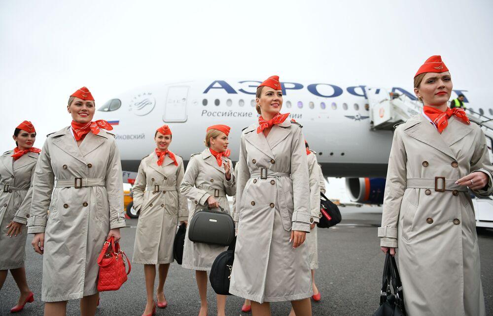 Očekává se, že ke konci roku 2020 bude Aeroflot disponovat 11 novými letadly Airbus A350.