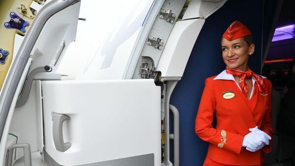 Letuška společnosti Aeroflot - Sputnik Česká republika