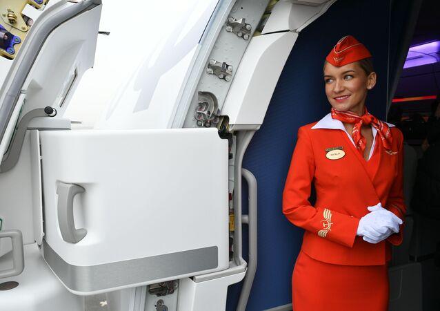 Letuška společnosti Aeroflot