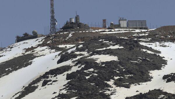 Hora Hermon v Golanských výšinách - Sputnik Česká republika