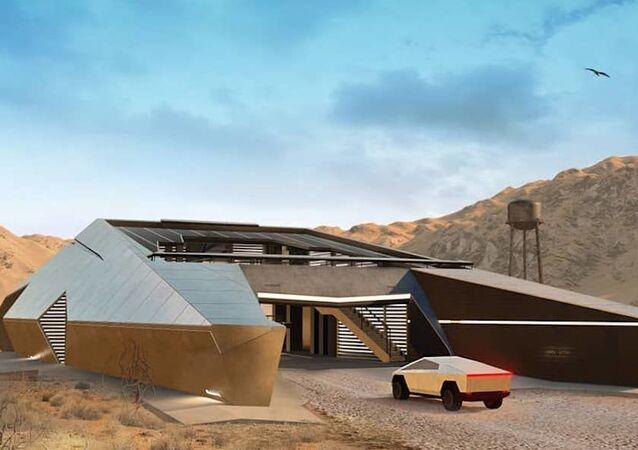 Koncept domu CyberHouse od ruské architektonické společnosti Modern House