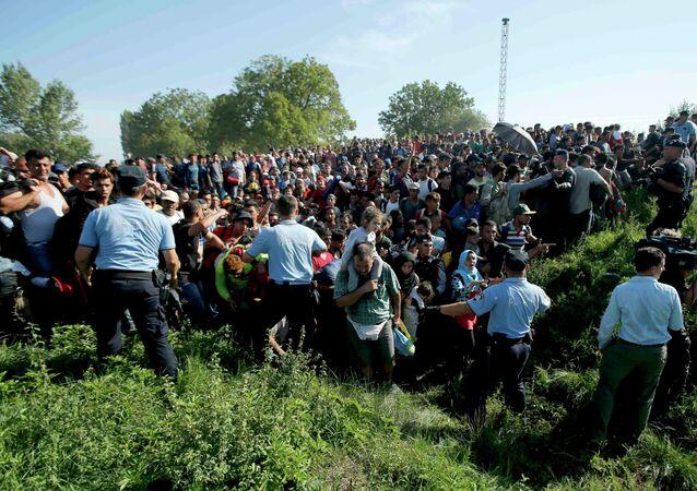 Migranti v Chorvatsku