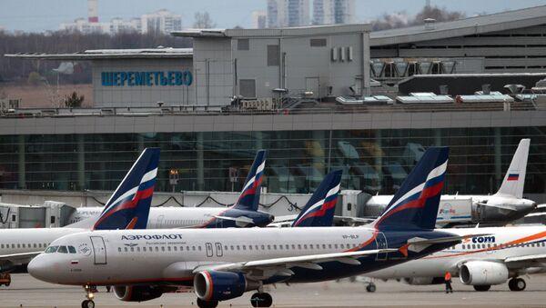 Letiště v Moskvě - Sputnik Česká republika