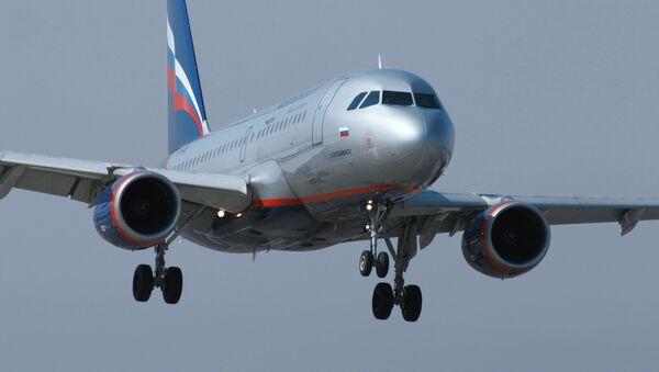 Airbus A320 společnosti Aeroflot - Sputnik Česká republika