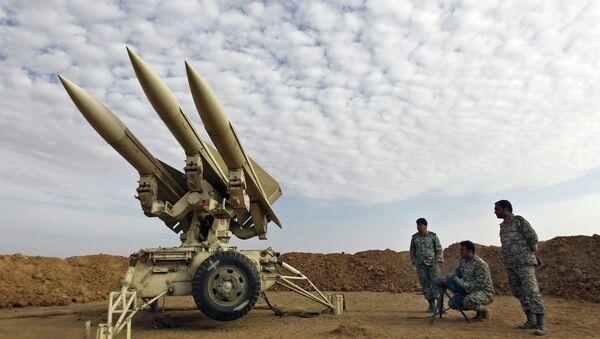 Íránské rakety. Ilustrační foto - Sputnik Česká republika