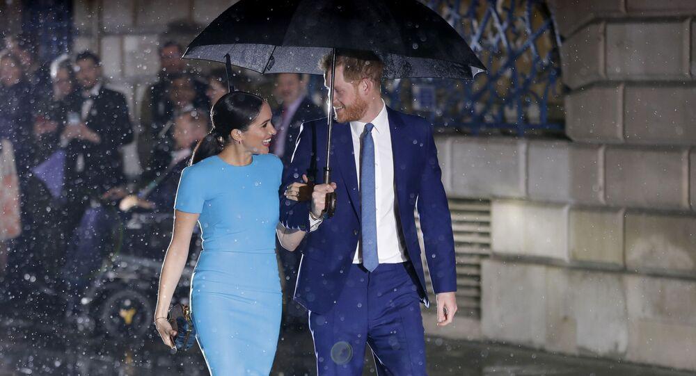 Meghan Markleová a princ Harry se účastní Endeavor Fund Awards