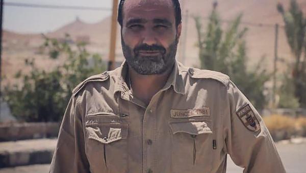 Íránský důstojník Farhad Dabirian - Sputnik Česká republika