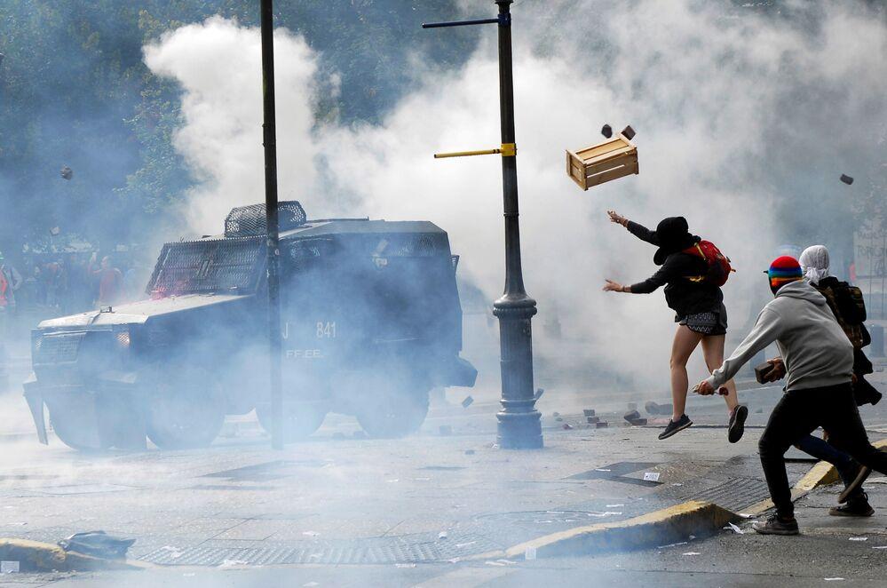 Protivládní protesty v Chile