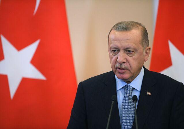 Prezident Turecké republiky Recep Tayyip Erdoğan