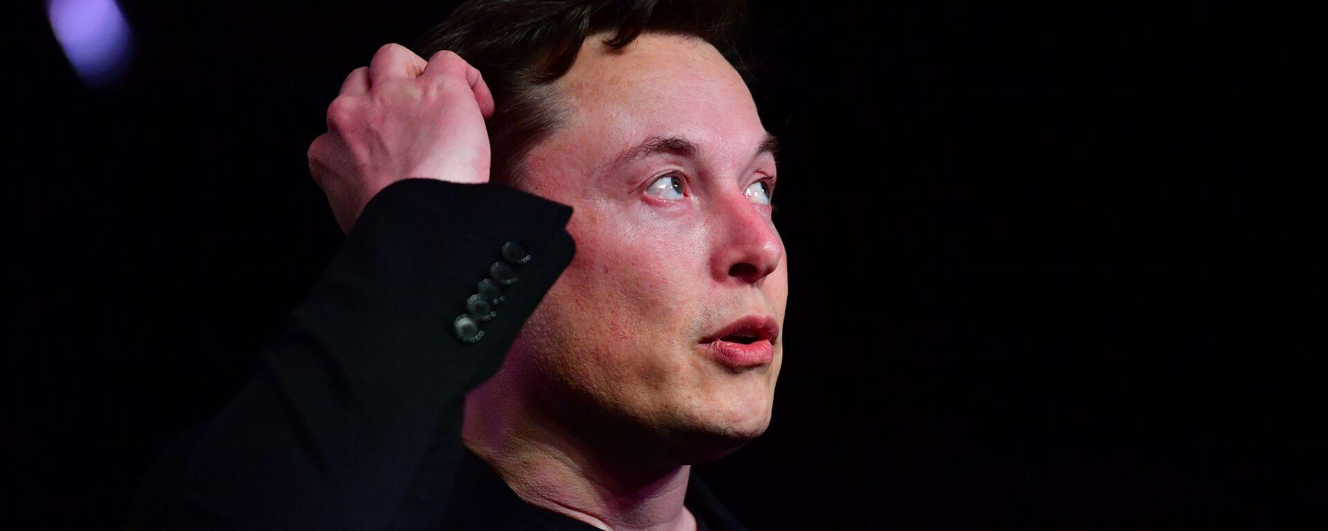 Elon Musk - Sputnik Česká republika, 1920, 04.08.2021