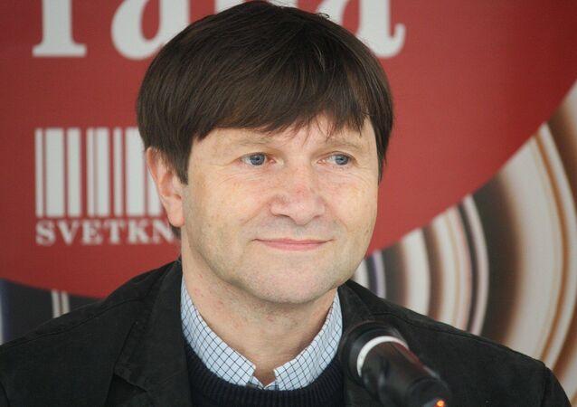 Český herec a divadelní ředitel Jan Hrušínský.