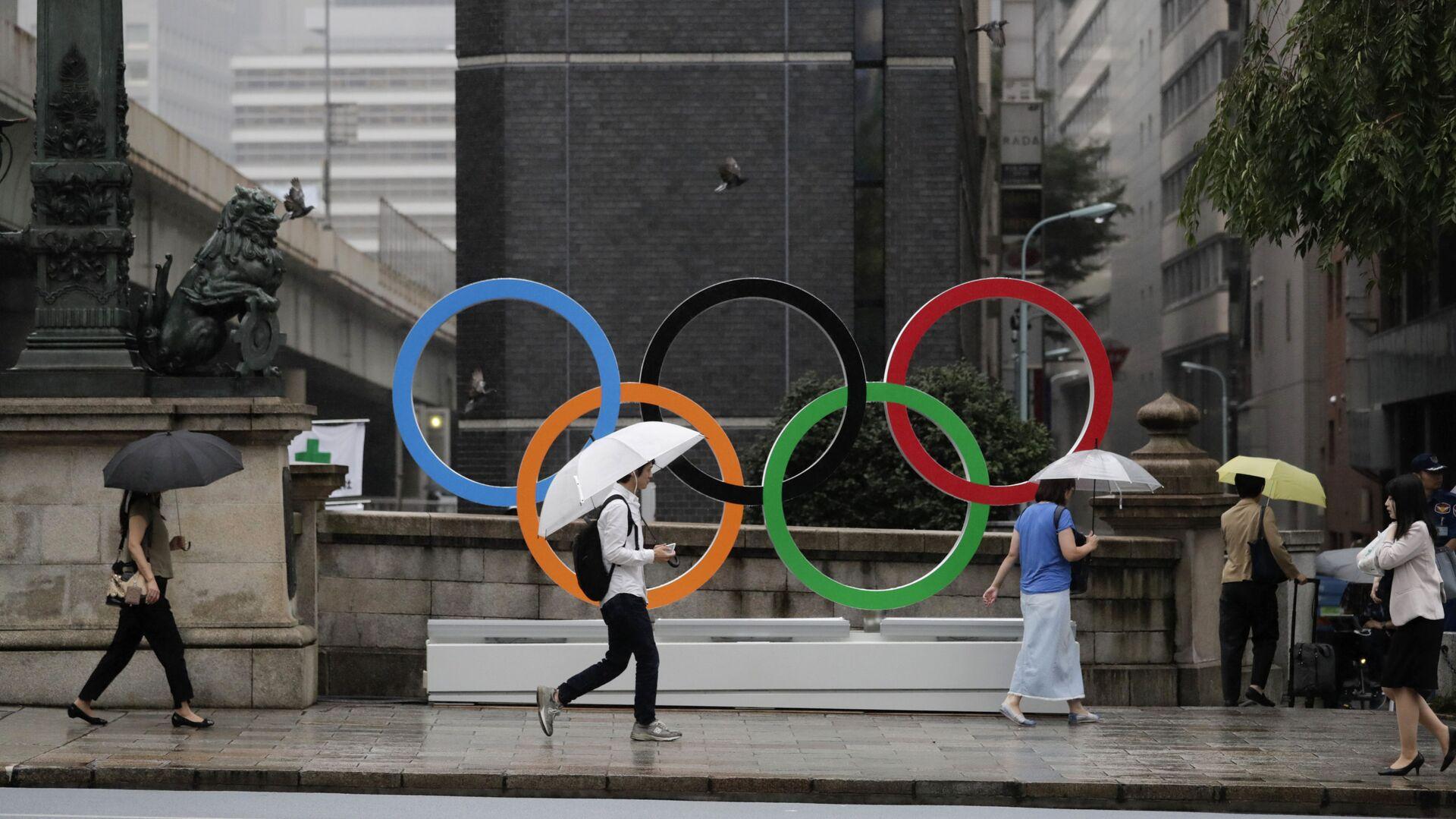 Symbol Olympijských her v Tioku  - Sputnik Česká republika, 1920, 22.07.2021