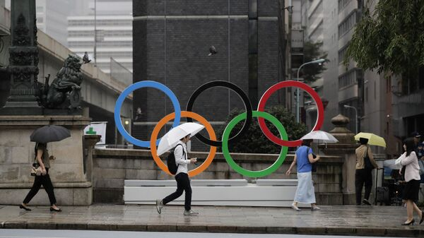 Symbol Olympijských her v Tokiu  - Sputnik Česká republika