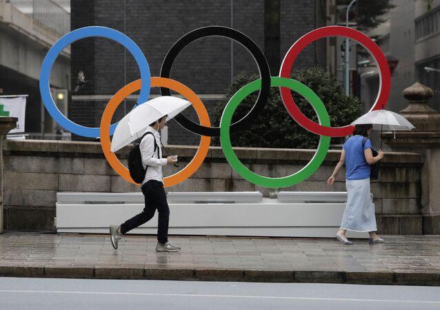 Symbol Olympijských her v Tokiu