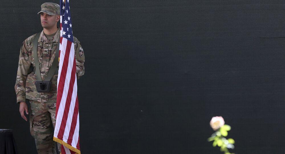 Americký voják v Kábulu. Ilustrační foto
