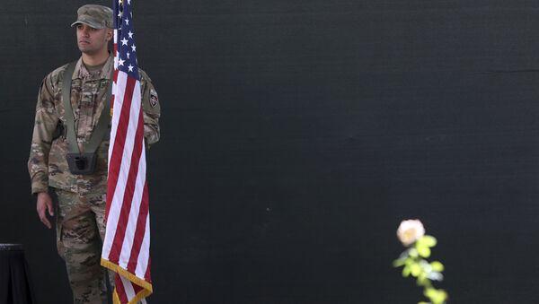 Americký voják v Kábulu. Ilustrační foto - Sputnik Česká republika