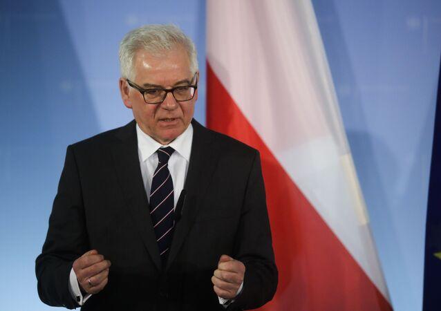 Polský ministr zahraničí Jacek Czaputowicz