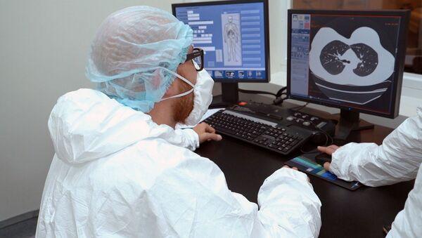 Lékaři v Moskvě. Ilustrační foto - Sputnik Česká republika