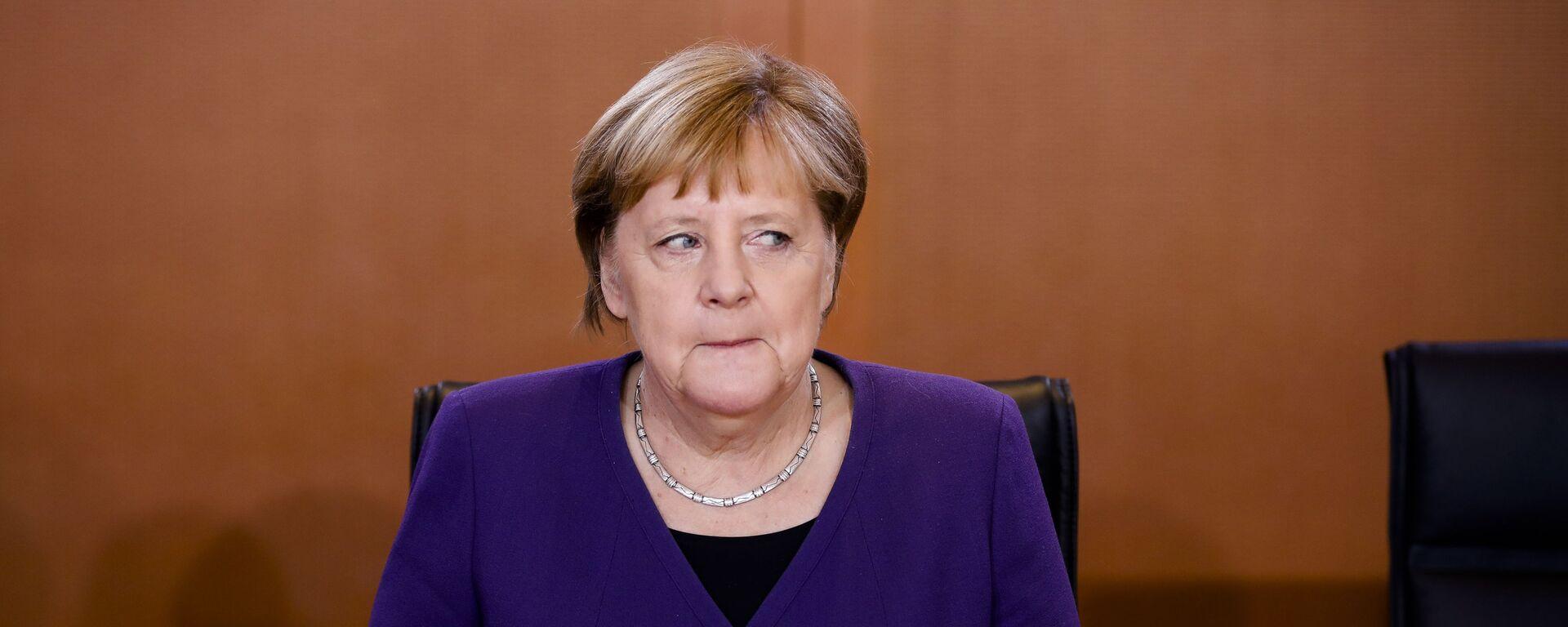 Německá kancléřka Angela Merkelová - Sputnik Česká republika, 1920, 08.06.2021