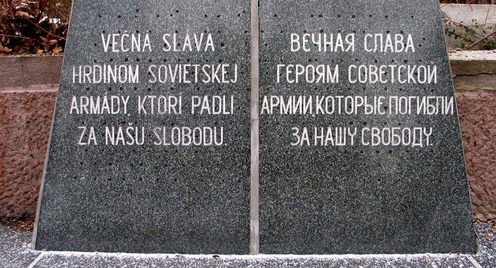 Vojenský hřbitov. Zvolen